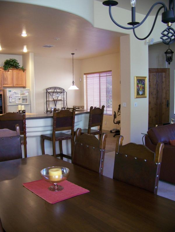 "Kitchen & Dining area - Lovely 2-3 Bedroom house in ""Beautiful Sedona"" - Sedona - rentals"