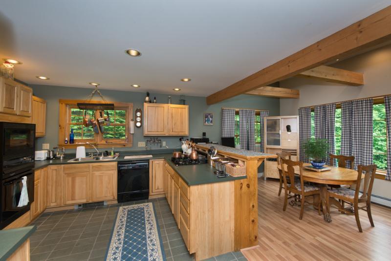 Kitchen, Dinning room - Shepard Brook - Vermont - rentals
