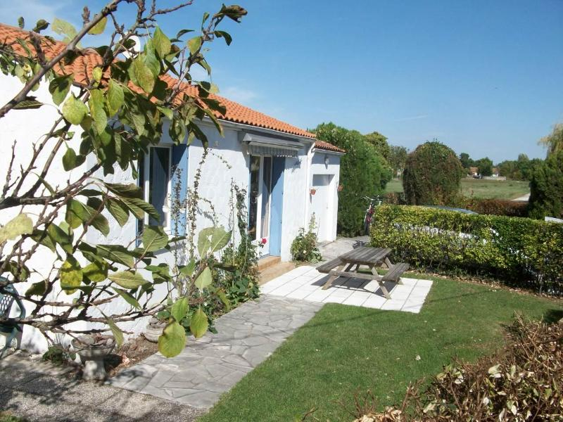Gite front elevation - La Palmyre - Royan - rentals