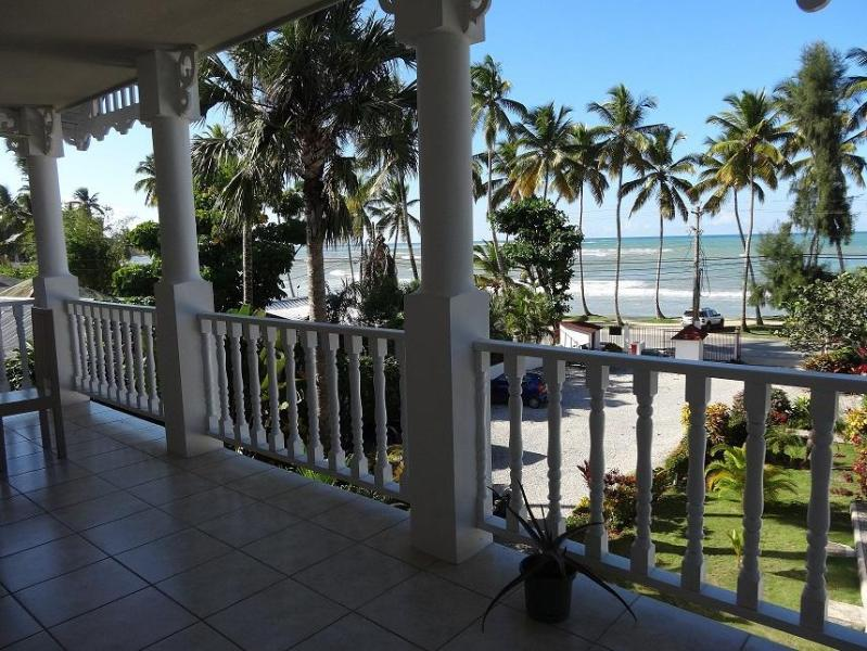 Terrasse - Apartment in front of the sea - Las Terrenas - rentals