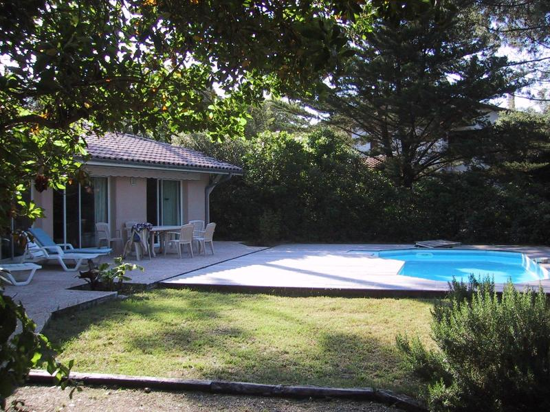 Arriving in the villa - villa with swimming pool close to the beach in Pyla sur Mer near Bordeaux - Pyla-sur-Mer - rentals