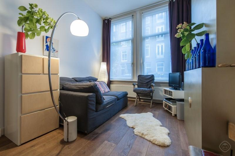 Living Room Wilhelm Vondel apartment Amsterdam - Wilhelm Vondel apartment Amsterdam - Amsterdam - rentals