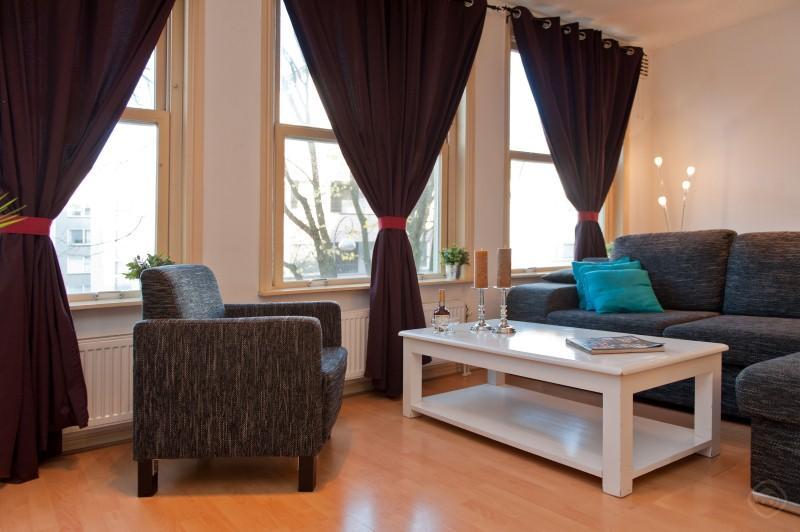 Living Room Carre Deluxe III apartment Amsterdam - Carre Deluxe III apartment Amsterdam - Amsterdam - rentals