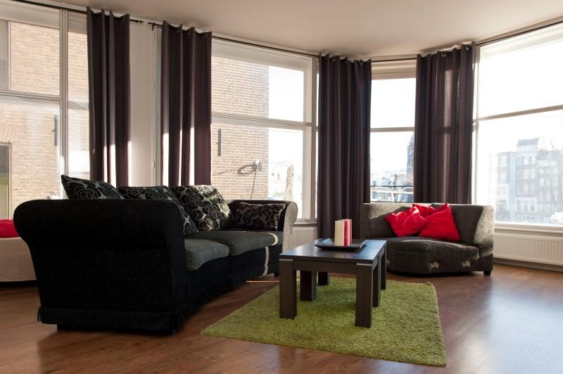 Living Room Dam Deluxe A apartment Amsterdam - Dam Deluxe A apartment Amsterdam - Amsterdam - rentals