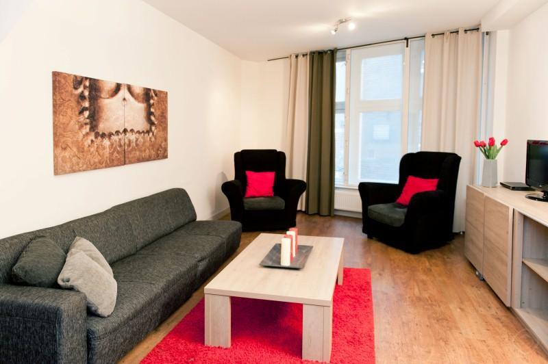 Living Room Dam Deluxe B Apartment Amsterdam - Dam Deluxe B apartment Amsterdam - Amsterdam - rentals