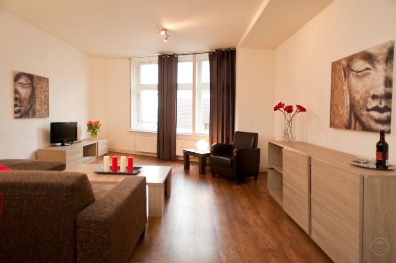 Living Room Dam Deluxe F apartment Amsterdam - Dam Deluxe F apartment Amsterdam - Amsterdam - rentals