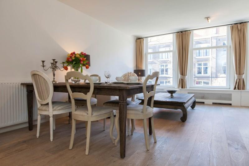 Dining Area Overview Lijnbaansgracht Apartment Amsterdam - Lijnbaans I apartment Amsterdam - Amsterdam - rentals