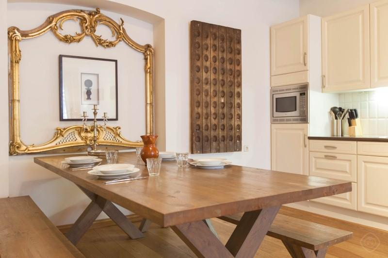 Dining Area with Kitchen Lindengracht Apartment Amsterdam - Lindengracht apartment Amsterdam - Amsterdam - rentals