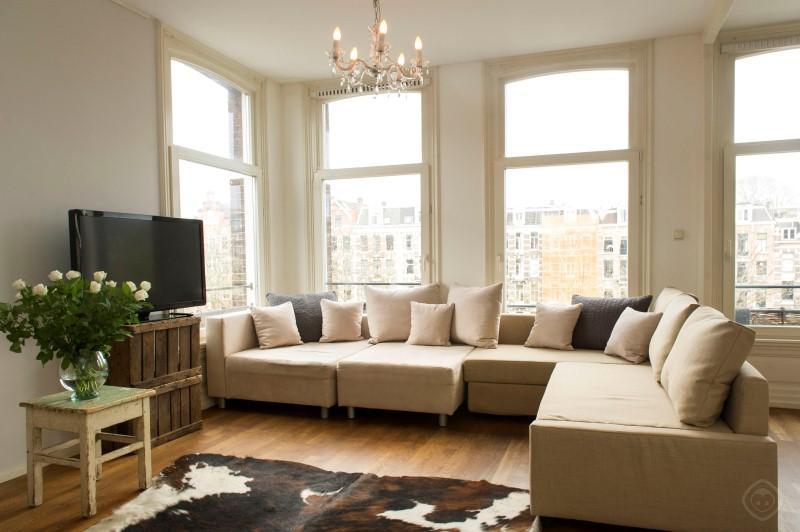 Living Room Overview Nassau Apartment Amsterdam - Nassau apartment Amsterdam - Amsterdam - rentals