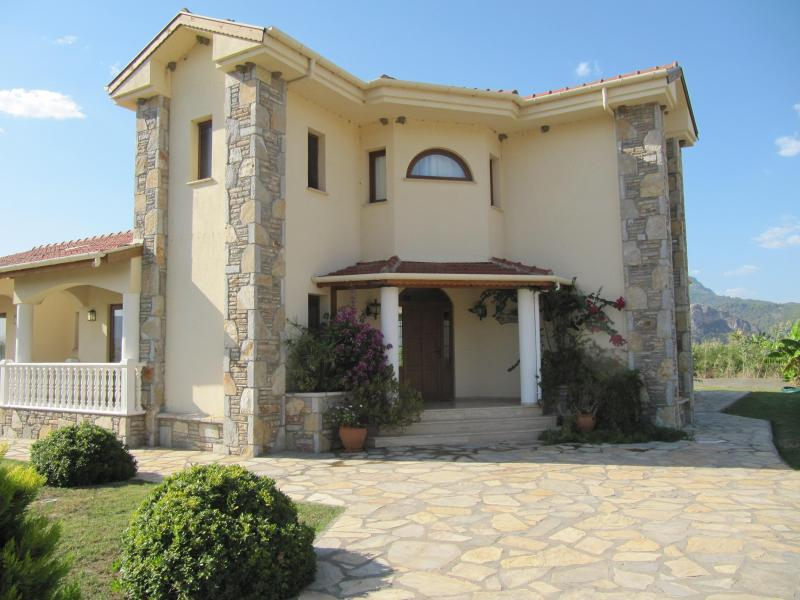 Front of the Plantation Villa from the road. - Villa Plantation in Dalyan very secluded with pool - Dalyan - rentals