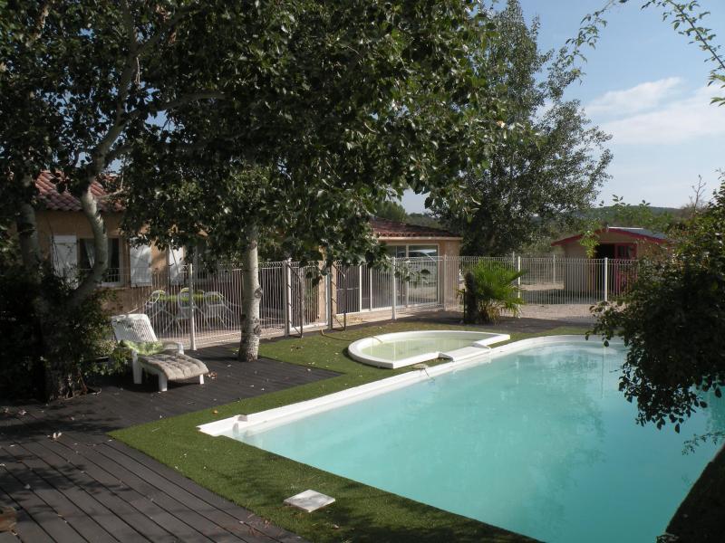 piscine - villa, piscine et jacuzzi pour 10 personnes en cevennes - Rousson - rentals