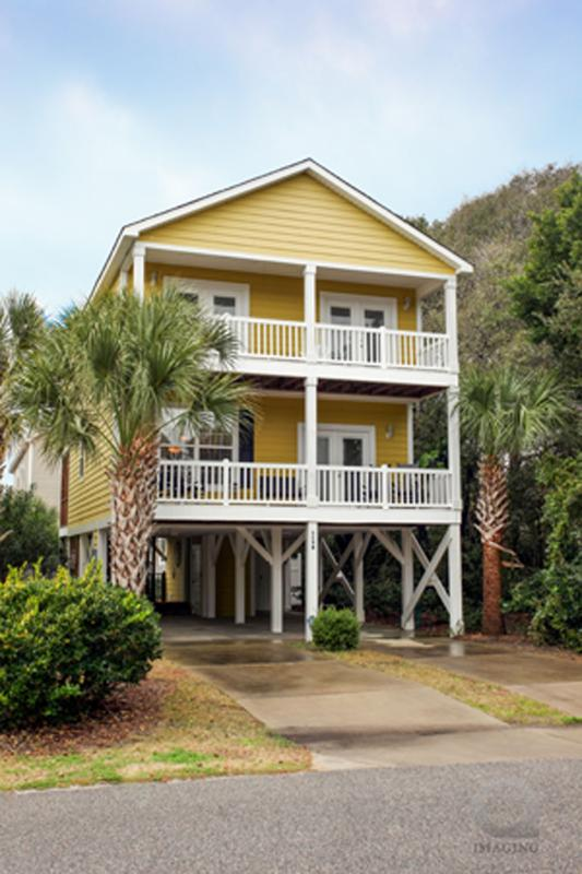 """Sun of a Beach"" in Surfside - 3rd Row, Ocean View, 5 bdr, Private Heated Pool, Elevator, Golf Cart! - Surfside Beach 3rd Row, Ocean View, Pool, Elevator - Surfside Beach - rentals"