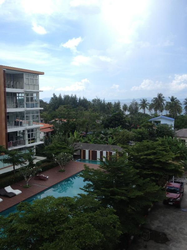Sea and pool view - 1 bedroom condo next to the beach in Klong Muang - Pak Nam - rentals