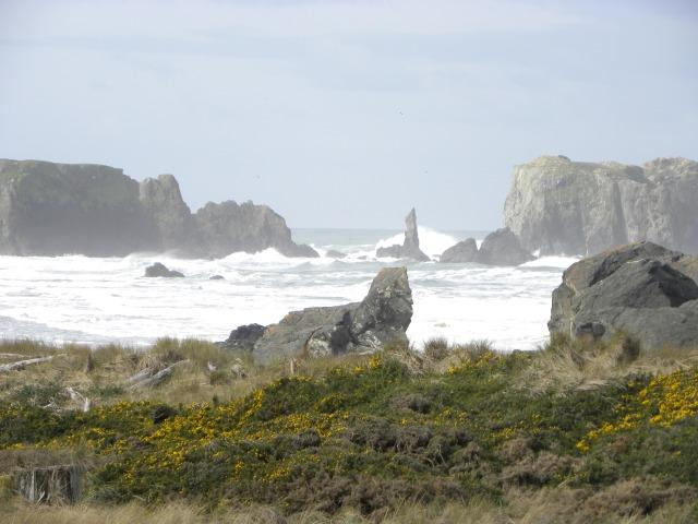 Enjoy Bandon's rugged beach right from your living room! - The Dunes House at Bandon - right at the ocean! - Bandon - rentals