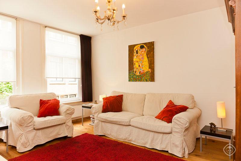 Living Room Jordaan Apartment Amsterdam - Jordaan- apartment Amsterdam - Amsterdam - rentals