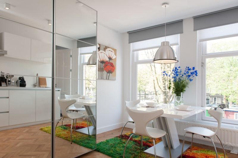 Dining Area Overview Da Costa II studio Amsterdam - Da Costa II studio Amsterdam - Amsterdam - rentals