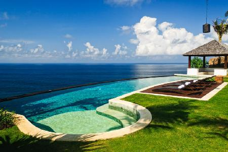 Beachfront Villa Pawana enjoy complete privacy, pool, garden shower & resort access - Image 1 - Uluwatu - rentals