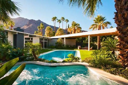 Experience Modern Oasis Offering Chef's Kitchen, Pool and In-Ground Grotto Spa - Image 1 - Palm Springs - rentals