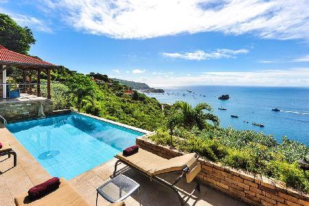 Ocean view villa Hurakan- calm and private with pool & daily maid - Image 1 - Colombier - rentals