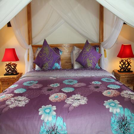 Romantic bedroom 1 - Romantic Villa in Seminyak - Seminyak - rentals