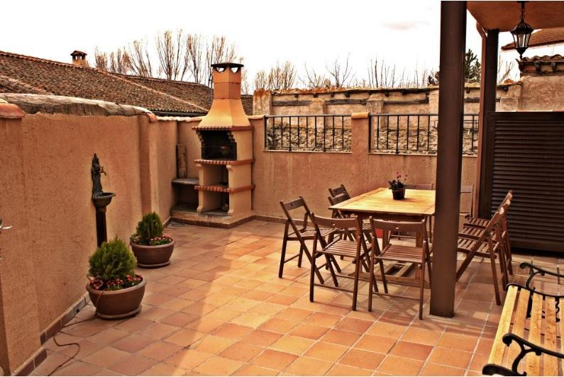 Patio - Casa de turismo rural en Segovia - Miguel-Ibanez - rentals