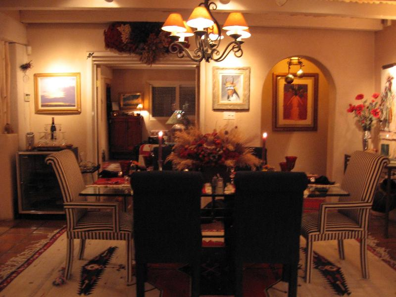 Dining Area - Beautiful Taos Mountain Home - Arroyo Seco - rentals