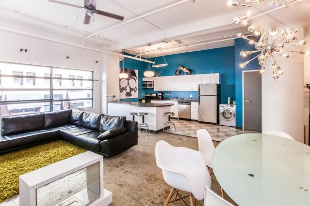Vibrant Modern Large Kitchen/Spacious Living Area - Huge Artist Loft in Downtown San Diego - Pacific Beach - rentals