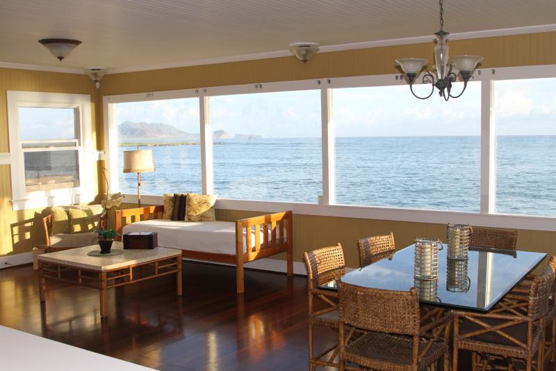 from kitchen - Lanikai / Kailua -  Ocean Front House - Kailua - rentals