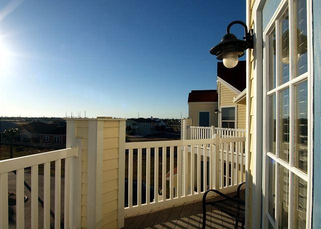 Balcony View - Going Coastal is a recently renovated 2/2 Condo close to the Beach! - Corpus Christi - rentals