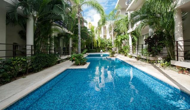 Central condo near the beach. Aqua Terra 101 - Image 1 - Playa del Carmen - rentals