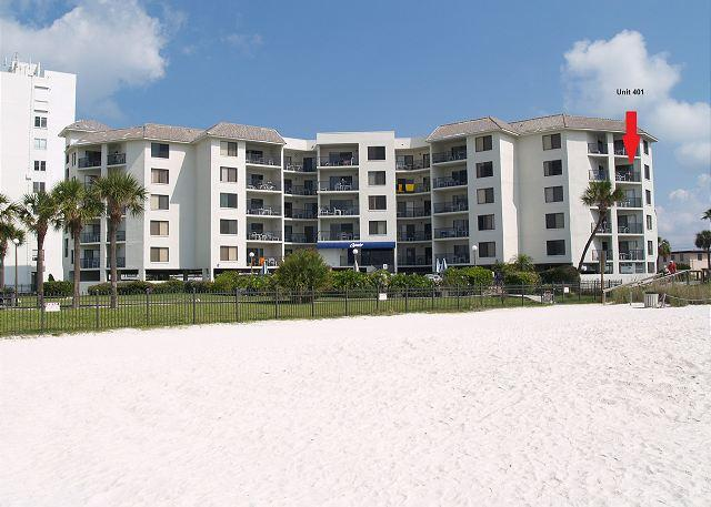 Beachfront vacation rental at Caprice on St Pete Beach Florida - Caprice #401 - Saint Pete Beach - rentals