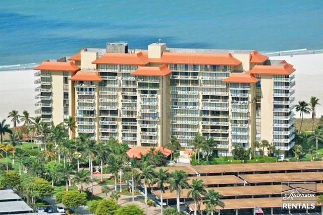Beachfront condo in the beautiful Tradewinds - Image 1 - Marco Island - rentals