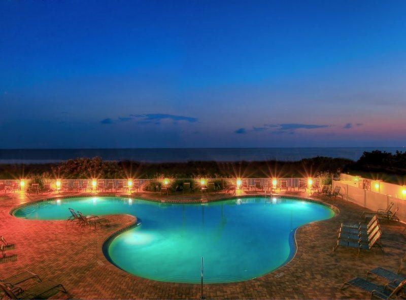 Sunset Vistas Beach side Pool at Dusk - Treasure Island - SV2B2 - Treasure Island - rentals