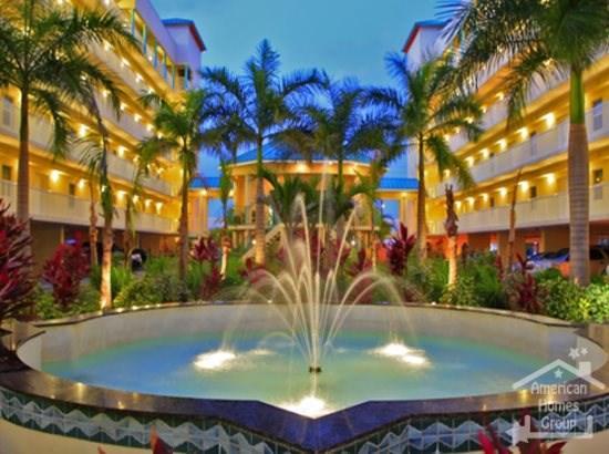 Sunset Vistas Courtyard Fountain - Treasure Island - SV2B4 - Treasure Island - rentals