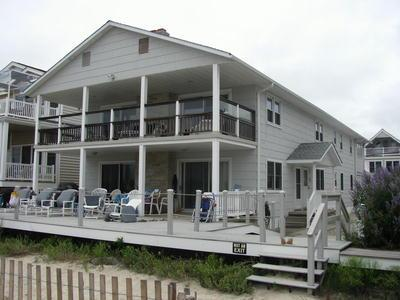 Beach Side 2nd Floor.  Entry Door on Side. - 3622 Wesley Avenue 2nd Floor 129935 - Ocean City - rentals