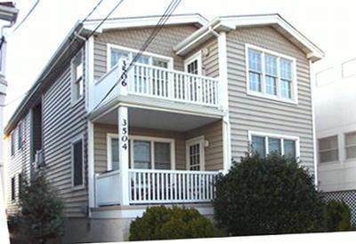 3506 West Avenue, 2nd floor - 3506 West Avenue 2nd 111790 - Ocean City - rentals