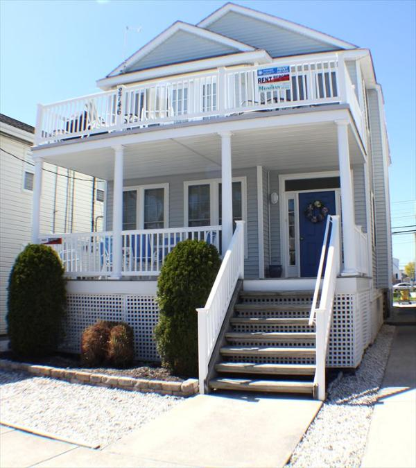 Ocean Views just two blocks from the beach - 2746 Asbury 2nd 116234 - Ocean City - rentals