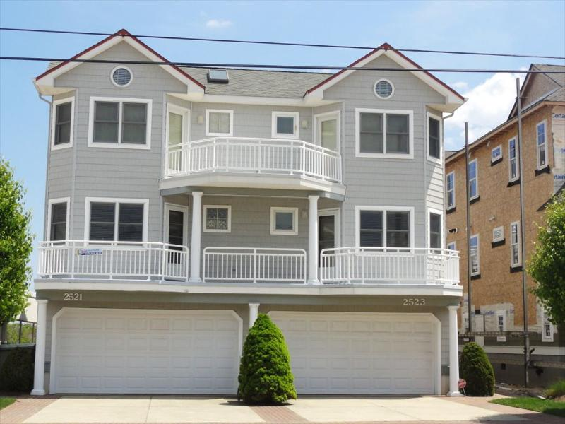 Exterior View From Street - 2523 Wesley Avenue 2nd 118392 - Ocean City - rentals