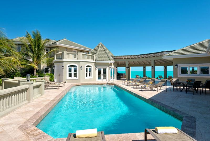 Turks And Caicos Villa 5 Located Directly On Peaceful And Private Long Bay Beach. - Image 1 - Grace Bay - rentals