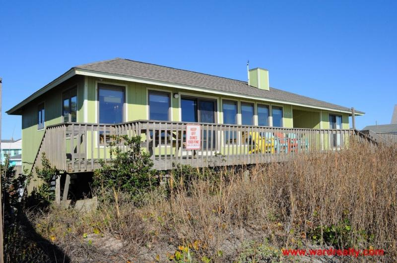 Oceanfront Exterior - Oceancrest - Surf City - rentals