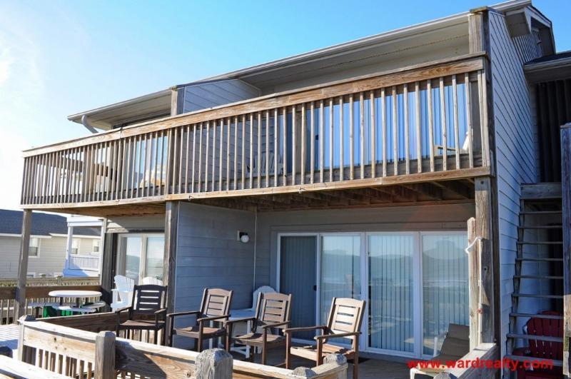 Oceanfront Exterior - Baystater - Surf City - rentals