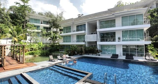 Common Pool - Kamala, Beautiful Spacious Apartment - Kamala - rentals