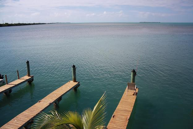 A water view facing due west overlooking the boat slips that come with each Villa - Quiet, Clean with Awesome VIews in Paradise - Conch Key - rentals