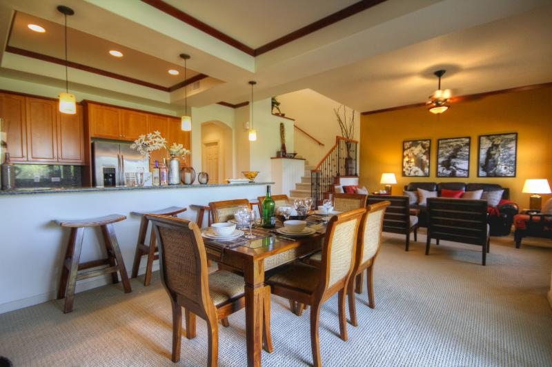 Main living space - Dancing Dolphins Villa: Stunning Views & Luxury - Waikoloa - rentals