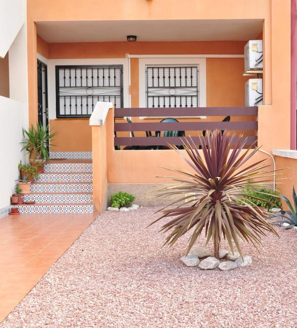 Front garden with veranda - Lovely ground floor, light & airy 2 bed apartment - Punta Prima - rentals