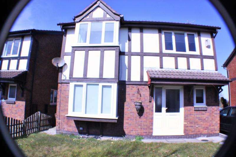 View from the front of the house - Bluebell Cottage  sleeps six 3 bedrooms - Thornton Cleveleys - rentals