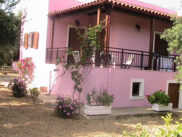 Facade of Villa Athina - Villa Athina,holidays in Cretan nature! - Rethymnon - rentals