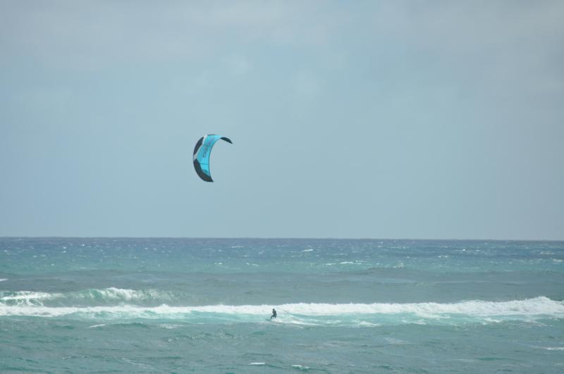 Kite surfing at Tiki Moon Villas - Ocean Breeze at Tiki Moon Villas - Laie - rentals