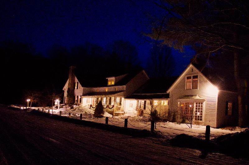 The outside of the inn - Inn at Baldwin Creek; classic VT bed & breakfast - Bristol - rentals