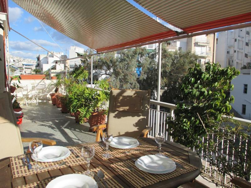 Asklipion Apartment, with a Great Terrace and View - Image 1 - Athens - rentals